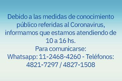 Información para contactarse