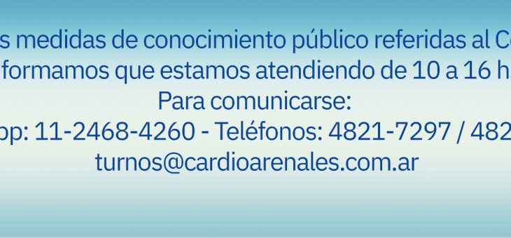 Atención en CardioArenales